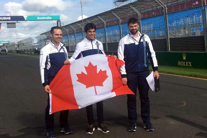Zászlót bontott a Williams kanadai újonca