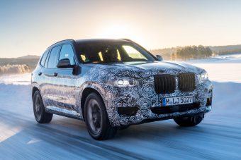 Hivatalosan buktatták le az új BMW X3-ast
