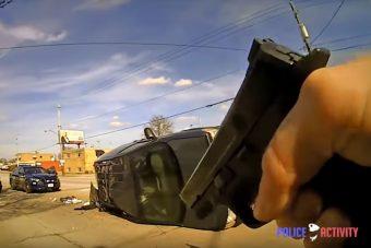 Na így dolgoznak az amerikai rendőrök