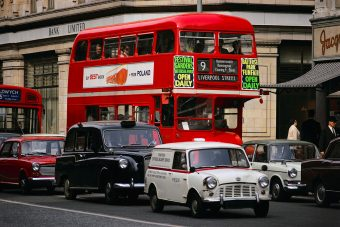 Fokozatosan szorulnak ki az autók Londonból