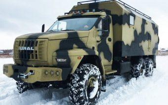 Az állad is leesik ettől az Ural katonai teherautótól