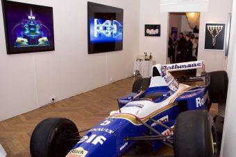 Képzőművészeti galériába megy a Forma-1