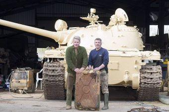 Százmilliós aranykincset találtak egy katonai járműben