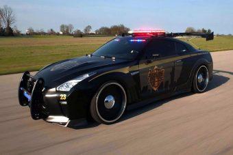 A rendőrautó, amit soha nem akarsz látni a visszapillantóban