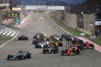F1: Vettel Bahreinben is verte a Merciket