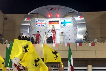 F1: Vettel nyerte a Bahreini Nagydíjat