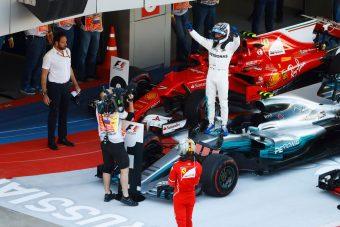 F1: Szocsiban Bottas a nagyok közé került