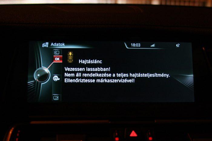 Ne lepődjön meg a csökkentett teljesítményű vészüzemmódot jelző üzeneten, aki használtan vesz 5-ös BMW-t