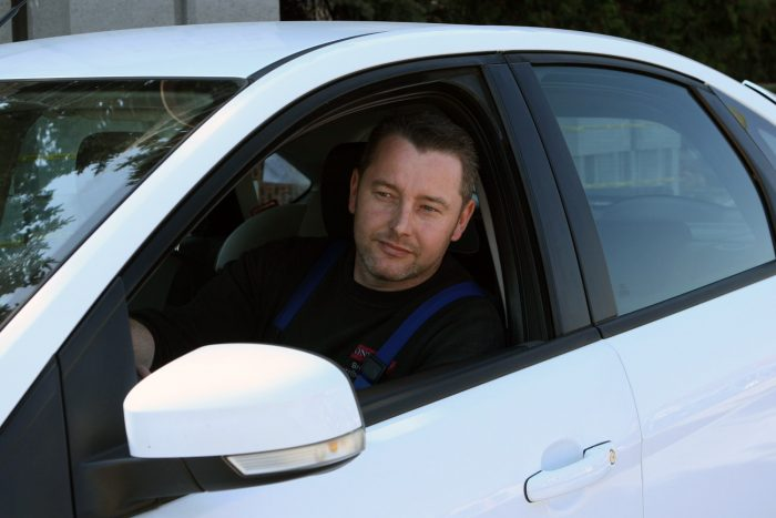 Kelemen Sándor öt éve használja a 120 000 kilométerrel, kétévesen megvett dízel Focust