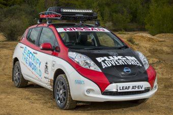 16 ezer kilométeres túrára indul a Nissan Leaf