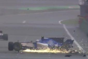 F1: Ismét összetörte a Saubert Giovinazzi