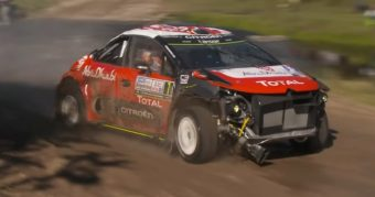 Mindent túlél a Citroën WRC gépe