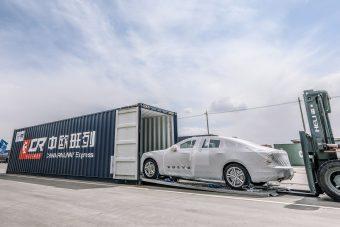 Vonattal érkeznek Európába a kínai gyártású Volvók