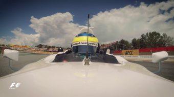 F1: Focisztárt autóztatott Baumgartner Zsolt - videó