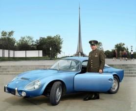 Íme Gagarin ritkán látott kedvenc francia kocsija