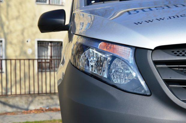 Opcionálisan LED-es világítással is rendelhető a Vito.