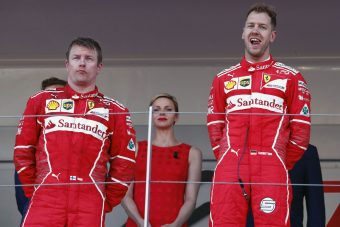 F1: Räikkönen nem vág jó képet a 2. helyhez
