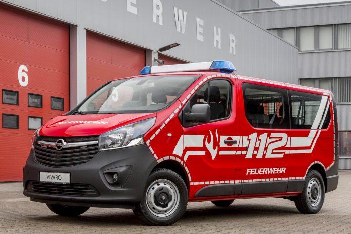 Opel Vivaro Feuerwehr-Mannschaftswagen, Frühjahr 2017