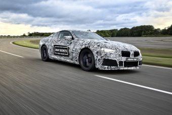 Fóliába húzott M8-assal hergeli a közönséget a BMW