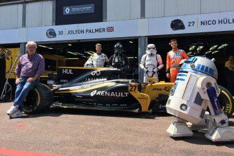 Monaco: Újra Star Wars a Forma-1-ben