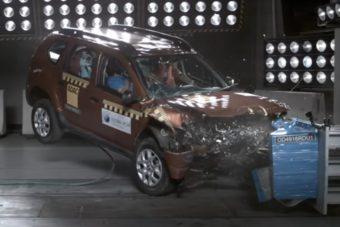 Nulla pontot kapott a törésteszten a fapados Dacia