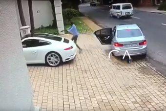 Ez a Porsche-tulajdonos úgy reagált le egy fegyveres rablást, ahogy nem sokan