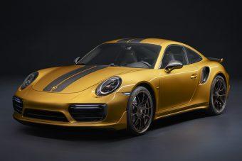 Erősebb, fényűzőbb: Porsche 911 Turbo S Exclusive Series