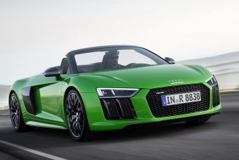 Audi R8 Spyder V10 plus: csupasz izom