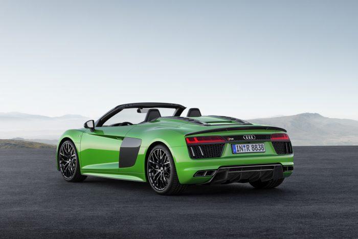 Audi R8 Spyder V10 plus: csupasz izom 2