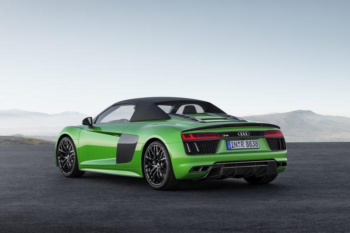 Audi R8 Spyder V10 plus: csupasz izom 3