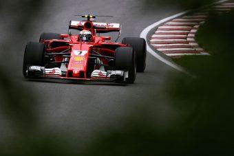F1: Räikkönen remekelt, a többiek estek-keltek a szabadedzésen