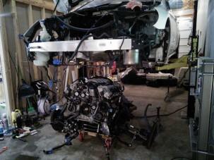 15,5 millióba fájt volna a a ritka Mercedes javítása, inkább megszerelte maga