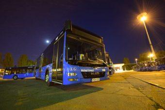 Ismét új buszok Budapesten
