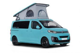 Trendi lakóautót varázsoltak a Citroën furgonjából