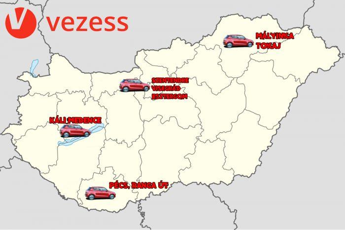 magyarország autóútjai térkép Magyarország legizgalmasabb autós útjai | Vezess magyarország autóútjai térkép