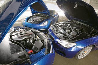 V8-asok és turbófeltöltősek