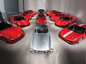 Eladó egy eszméletlen autógyűjtemény