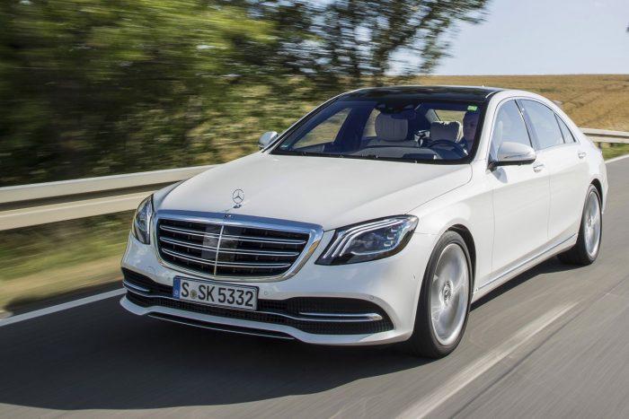 Új Mercedes S-osztály: gyönyör a négyzeten 1