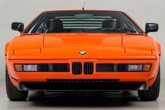 Hajmeresztő áron kínálják ezt a ritka BMW M1-est