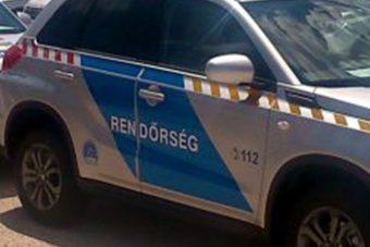 Itt a legújabb magyar rendőrautó!