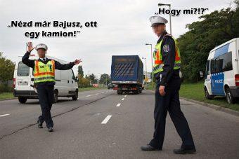 Óriásit hibáztam, a magyar rendőrség pedig azonnal büntetett