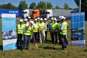 Elstartolt az első hazai LNG-töltőállomás építése