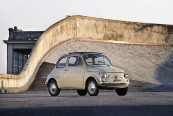 Igazi műtárgy lett a Fiat 500-asból