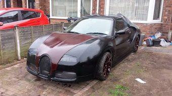Ennél szánalmasabb Bugatti Veyron replika nincs
