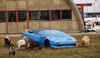 Ez a réten rohadó Lamborghini magyar, és nem is az aminek látszik