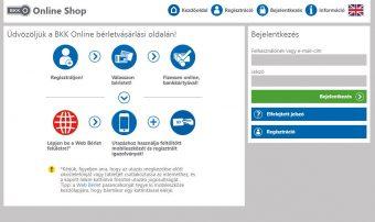 Elindította a BKK az online bérletvásárlást