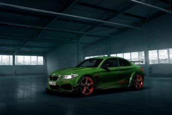 Tuningolt 2-es lett a leggyorsabb BMW a Zöld Pokolban