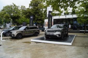 Balatonfüreden kelleti magát az új Range Rover Velar