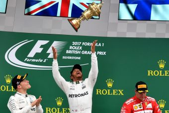 Räikkönen nem boldog a dobogón