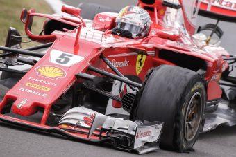 F1: Megvan, mi történt Vettel gumijával